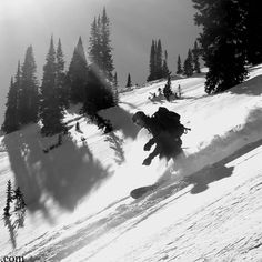 Hmmm who likes some cream with their dessert?  Scott Yost shredding through some creamy pow in the Crested Butte backcountry last week. For more pics or to read the full report visit 14erskiers.com or click on the link in our profile!  #sharetheslate #sharethevalley #crestedbutte #14erskiers #snowbarding #ski #skiing #powder #creamypow #lifeisgood #instalike #newblogpost