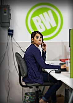 One of our customer service reps, Hannah, is always there to help you out. She likes long talks on the phone....