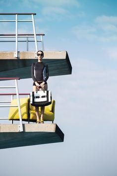 Colección Blow Up / Cover Me  Por: Céline Godin, diseñador Fotografía: Adrien Williams
