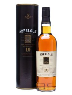 Aberlour 10 Year Old / Speyside Single Malt Scotch Whisky Distillery Bottling Very thin and easy to drink. I like the nose but would wish for a fuller palate and longer finish. An everyday whisky. Scotch Whiskey, Bourbon Whiskey, Bar Drinks, Alcoholic Drinks, Beverages, Aberlour Whisky, Whiskey Brands, Whisky Tasting, Pot Still