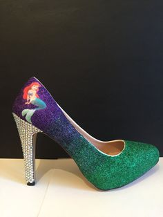 Hey, I found this really awesome Etsy listing at https://www.etsy.com/listing/479894389/the-little-mermaid-inspired-high-heels