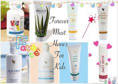 Forever Children Favourites  B Aloe inspired! ! !  www.lomaso.myforever.biz/store
