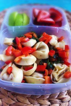 Operation: Lunch Box: Day 41 - Tortellini Salad