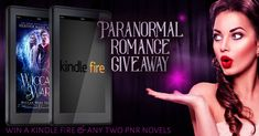 Win A Kindle Fire & Two Paranormal Romance Novels!