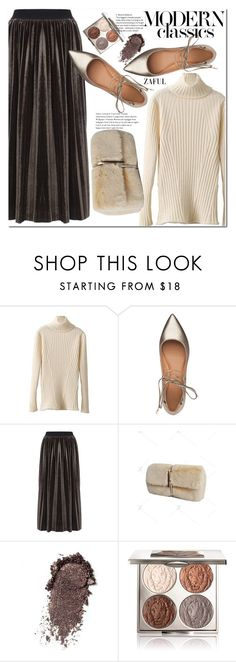 """""""Classic style"""" by duma-duma ❤ liked on Polyvore featuring Sigerson Morrison and Chantecaille"""