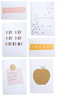 im a big fan of brown paper's sweet cards