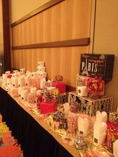 WSC 2013 - VIP Party Candy Bar