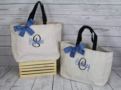 Personalized Cheer Dance Beach Bridesmaid Gift Tote Bag- Wedding Party Gift- Bridal Party Gift- Initial Tote- Mother of the Bride Gift Beach Bridesmaids, Bridesmaid Bags, Personalized Tote Bags, Personalized Bridesmaid Gifts, Monogram Tote, Monogram Gifts, Gifts For Wedding Party, Bridal Gifts, Wedding Ideas