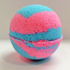 Cotton Candy Bath Bomb Choose your size by HappyPlaceBathCo