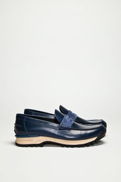 638b9554c85ae Innovative loafers from Acne. Penny loafer design in smooth leather