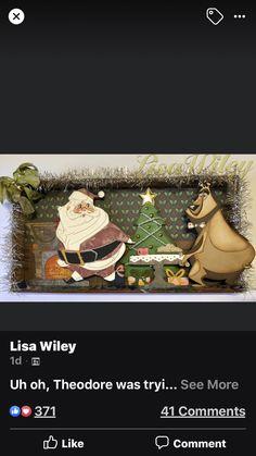 Tim Holtz, Pandora, Bear, Cards, Christmas, Navidad, Weihnachten, Yule, Christmas Movies