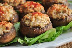 Spicy Sausage Stuffed Monterey Mushrooms Recipe - Food.com