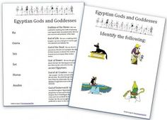 AncientEgypt-Gods-Goddesses-Worksheets