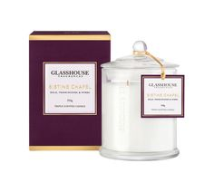 Sistine Chapel Gold, Frankincense and Myrrh 350g Triple Scented Candle by Glasshouse Fragrances