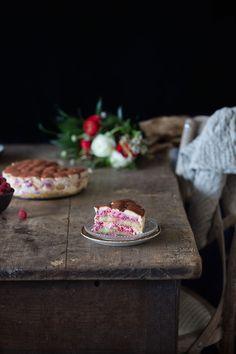Himbeer-Tiramisu Torte
