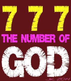 Image result for Meaning of the number 777