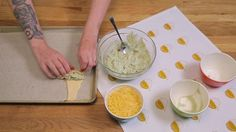 Spinach-Artichoke Pastry Rolls
