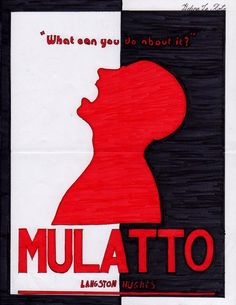 "October 24, 1935 Langston Hughes' play ""Mulatto"" opens on Broadway. It will have the longest run of any play by an African American until Lorraine Hansberry's ""A Raisin in the Sun."""
