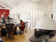 The Napping EnergyPod Cradles You In Comfort While You Sleep At Work