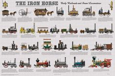 Trains (Vintage Art) Pictures at AllPosters.com
