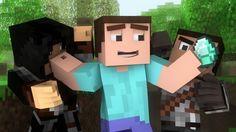 "♫ ""Where My Diamonds Hide"" - A Minecraft Parody Song of Imagine Dragon's..."