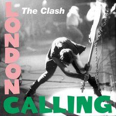Clash, The - London Calling Gram 2013 remaster) London Calling is the third studio album by English punk rock band the Clash. London Calling is a pos Greatest Album Covers, Iconic Album Covers, Rock Album Covers, Classic Album Covers, Music Album Covers, Music Albums, The Who Album Covers, Box Covers, The Velvet Underground