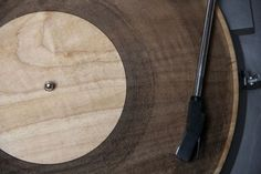 Beautiful Wood Records Created Using a Laser Cutter