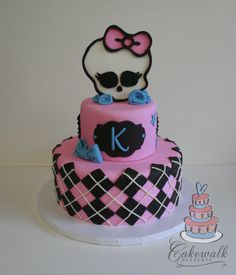 Monster High Cake  http://www.facebook.com/cakewalkdesserts
