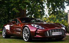 Awesome Aston Martin One-77