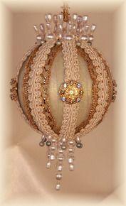 """Gift Boxed Heirloom Ornaments - Ornamentia Line - 2011 White Dove Collection """"Adella Lee"""""""
