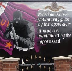 A new paramilitary mural that had been stalled after an outcry in east Belfast has been completed, despite objections from public representatives. Northern Ireland Troubles, Belfast Northern Ireland, Word Tattoos, Faith Tattoos, Rib Tattoos, Quote Tattoos, Music Tattoos, Belfast Murals, Irish Republican Army