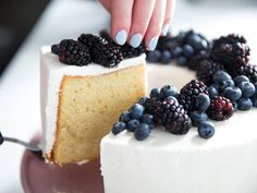 Classic Chiffon Cake With Vanilla Chantilly Recipe | Serious Eats