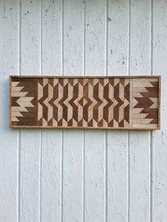 Reclaimed Wood Wall Art Lath Art Home decor by PastReclaimed
