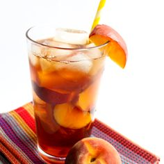This quick and easy recipe for SweetPeach Iced Teacombines two summer favorites—peaches and iced tea. It's so refreshing and and full of fruity flavor! I love iced tea. They don't sell the mix ...