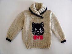 Resultado de imagem para knitting sweater girl 4 years