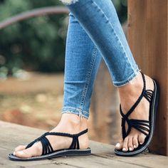 Thai Handmade Slippers Small Size Light Blue BUDDY