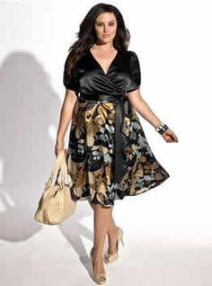 Moda Estilo Y Distinción Para Gorditas: Vestidos de Fiesta y Coctel - Tallas Especiales
