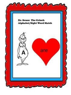 In this activity cards should be laminated and cut into individual playing cards.  I have played this game in a variety of way.  The way I found effective is when alphabet cards are passed out and students draw one card at a time to match/not match from the sight word pile.