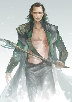 loki2 by sandara.deviantart.com on @deviantART Perfect; now we see what he's packing for real.