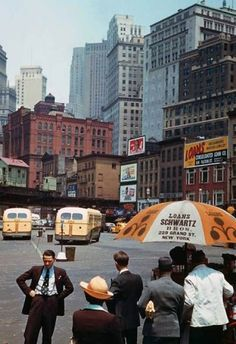 Inspiring colour photos of New York City in 1941