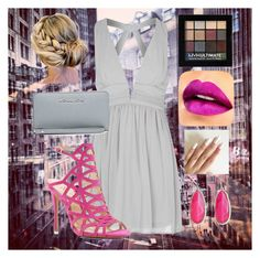 """The City Has Limits but She Doesn't"" by sierra-alayna on Polyvore featuring Glamorous, Vince Camuto, NYX, Mixit and Michael Kors"