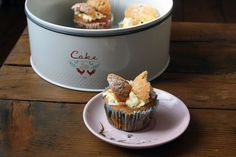 Earl Grey Cupcakes With Marmalade Frosting Marmalade, Frosting, Vegan Recipes, Pudding, Cupcakes, Vegetarian, Grey, Kitchen, Desserts