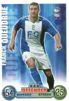 2007-08 Topps Premier League Match Attax #34 Franck Queudrue Front