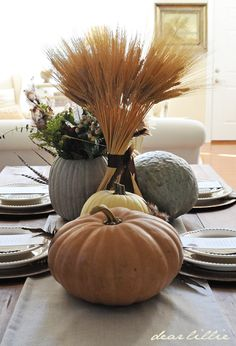 Dear Lillie: Thanksgiving Tablescape with our New Downloads