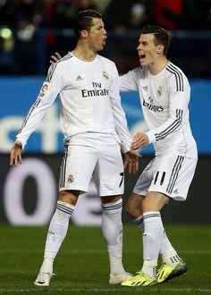 Bale & Cristiano.