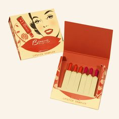 Besame Red and American Beauty Sampler
