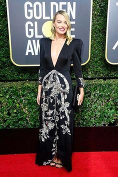Margot Robbie at the 2018 Golden Globes