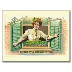 Vintage St Patrick's Day Postcard Collection (10)