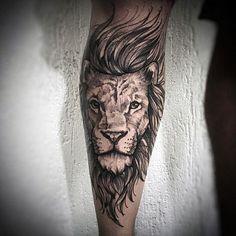 Tattoo work b Leo Tattoos, Forearm Tattoos, Animal Tattoos, Body Art Tattoos, Tatoos, Mens Lion Tattoo, Tiger Tattoo, Cat Tattoo, Tattoo Sleeve Designs
