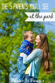 Which type of park parent are you? Read this hilarious post to find out!